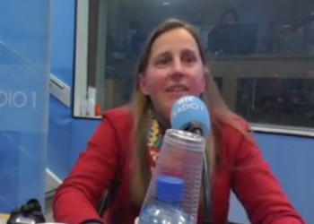 URSULA TIPP ON THE LATE DEBATE RADIO-AND TELEVISION SHOW