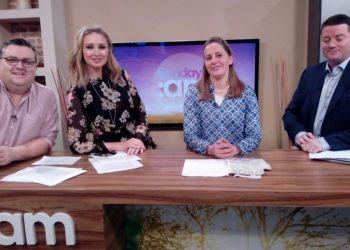 "URSULA TIPP ON TV SHOW ""SUNDAY AM"""