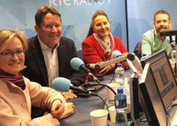 URSULA TIPP LIVE ON RTE RADIO 1 – SATURDAY WITH CORMAC Ó HEADHRA