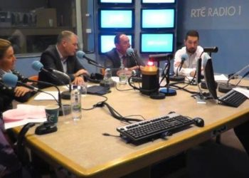 "URSULA TIPP ON RADIO SHOW ""THE LATE DEBATE"