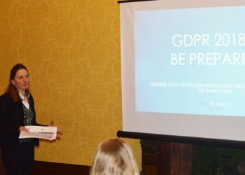 URSULA TIPP PRESENTS GDPR 2018